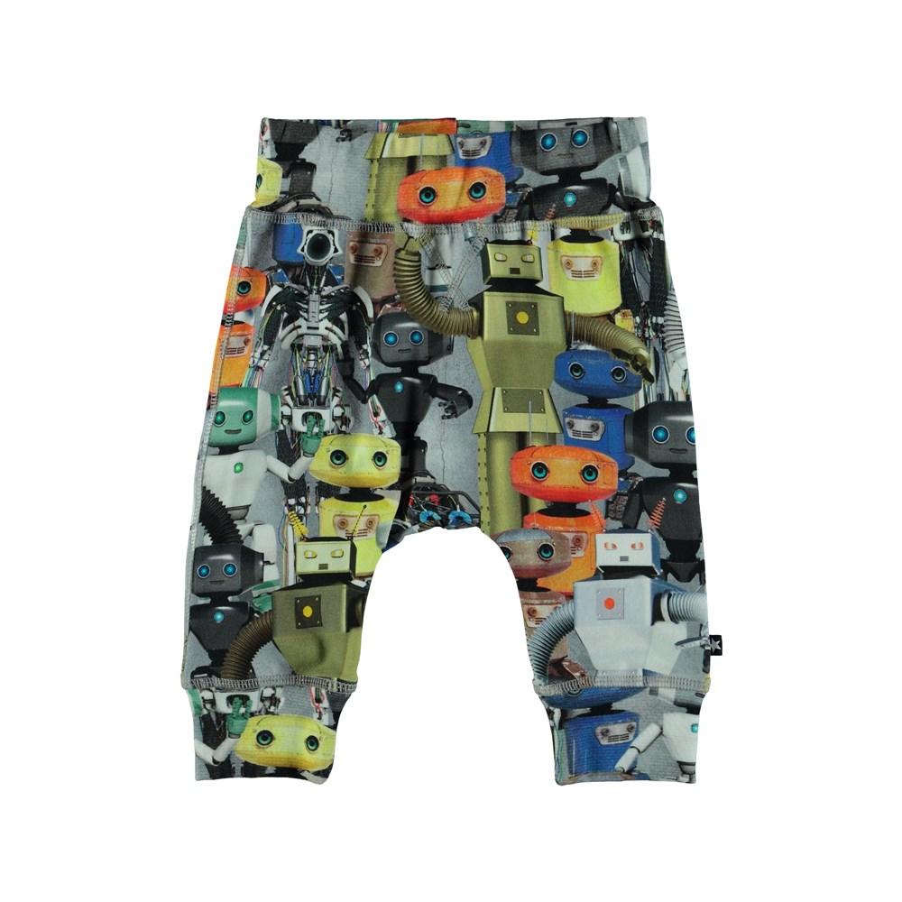 Sammy - Robots - Baby joggingbyxor med tryck av robotar.