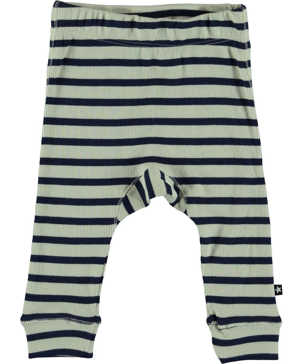Seb - Sailor Blue Stripe - Baby Byxor
