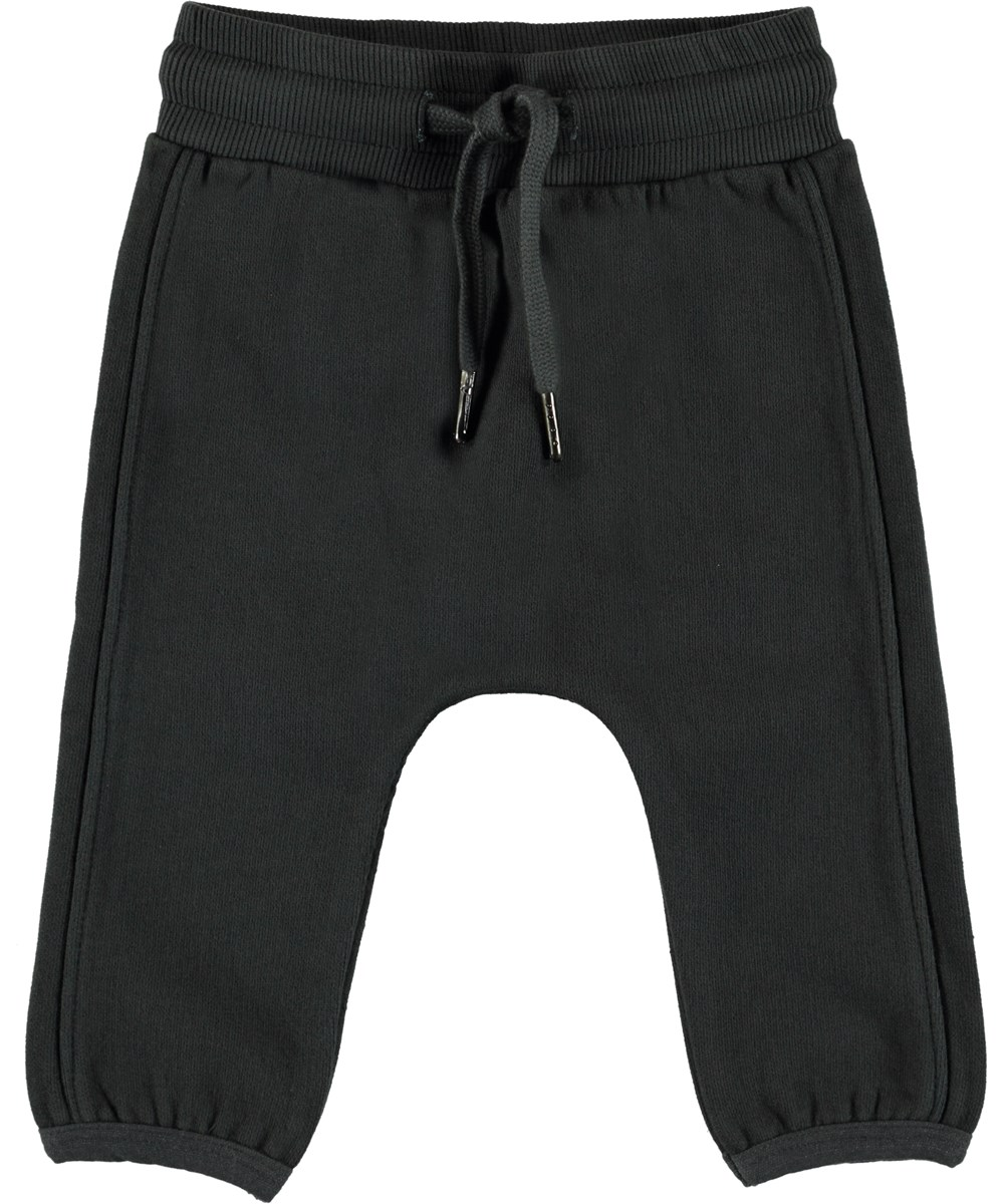 Stig - Pirate Black - Baby joggingbyxor.