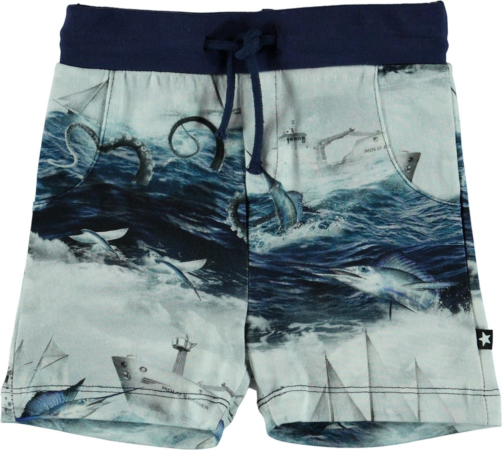 Simroy - Sailor Stripe - Baby Shorts