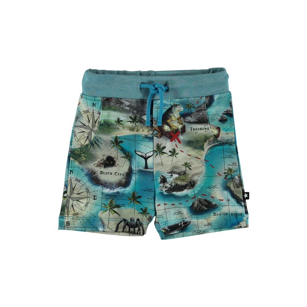 Simroy - Treasure Map - Baby Shorts