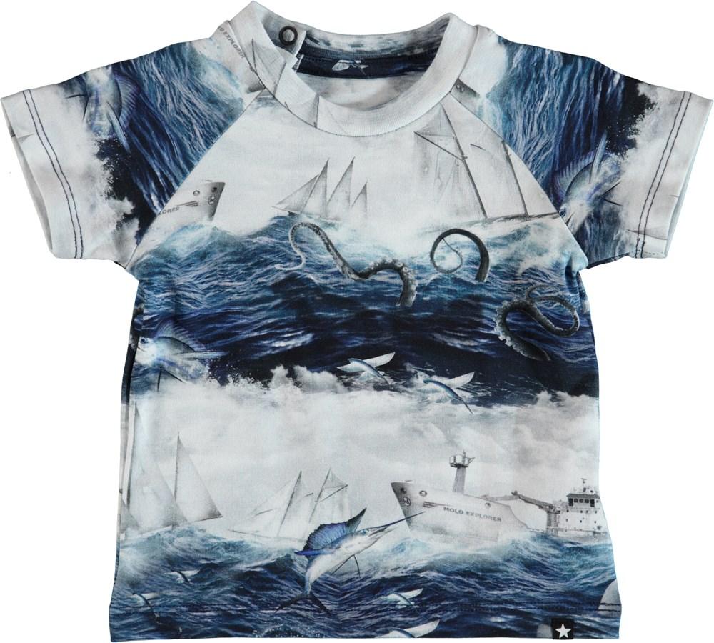 Emmett - Sailor Stripe - Baby T-Shirt