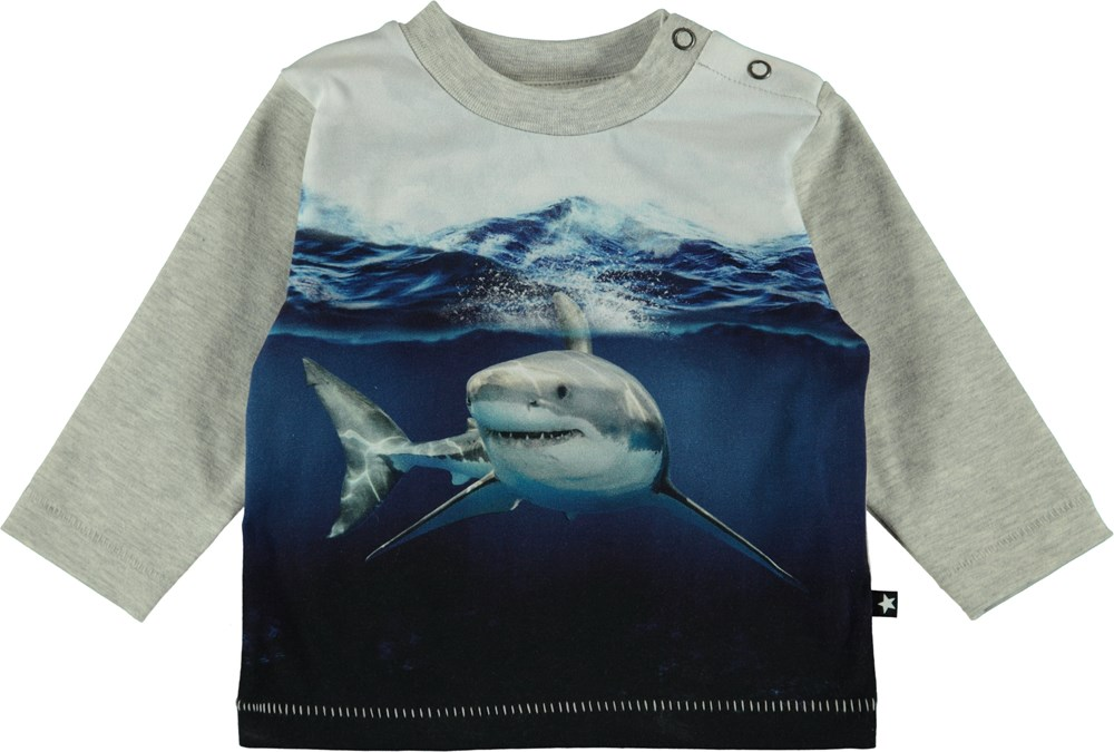 Enovan - Friendly Shark - Baby Blus