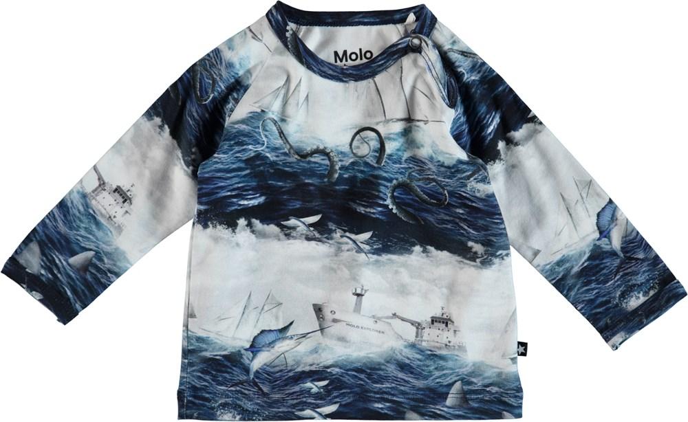 Ewald - Sailor Stripe - Baby Blus