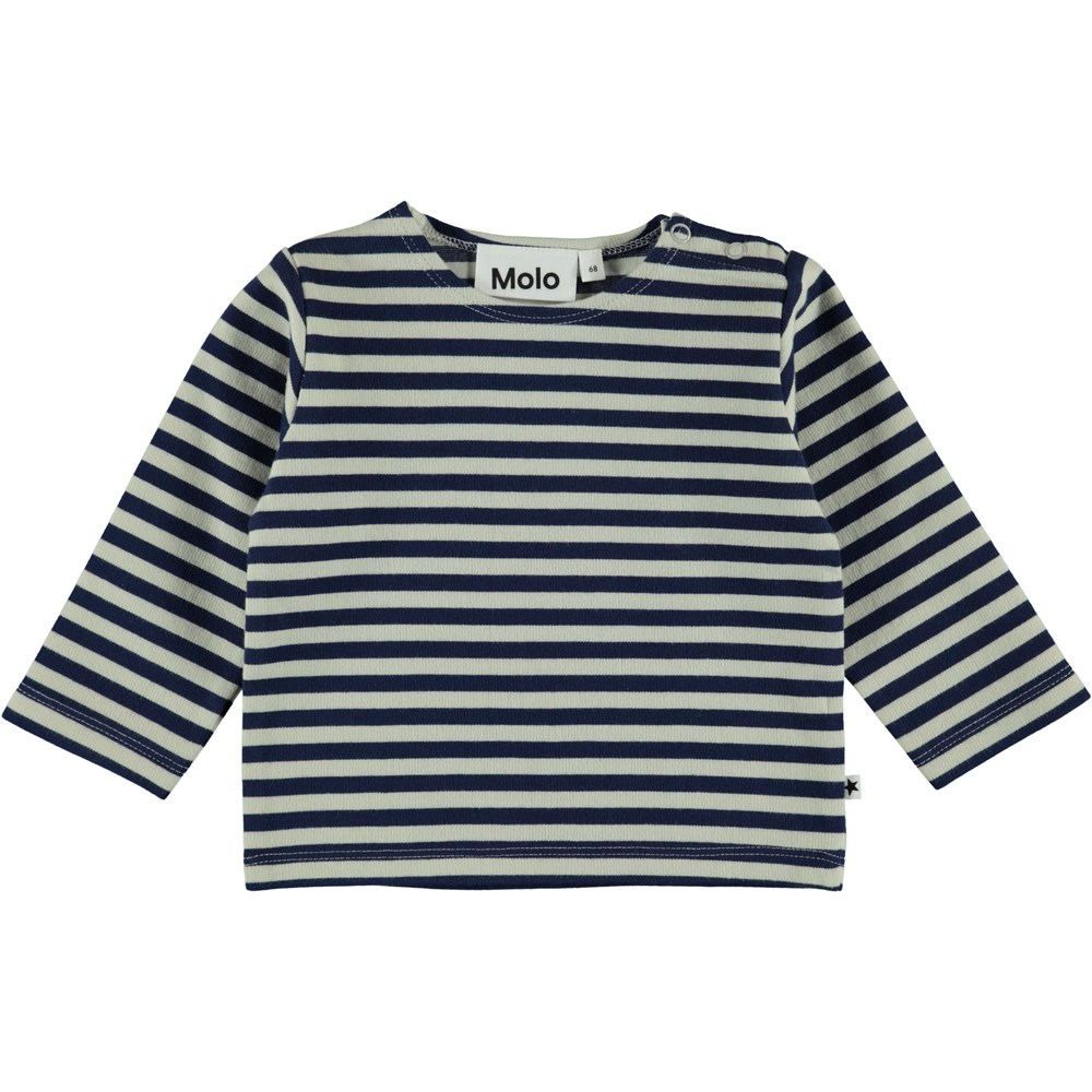 Dosto - Narrow Stripe - Baby Blus