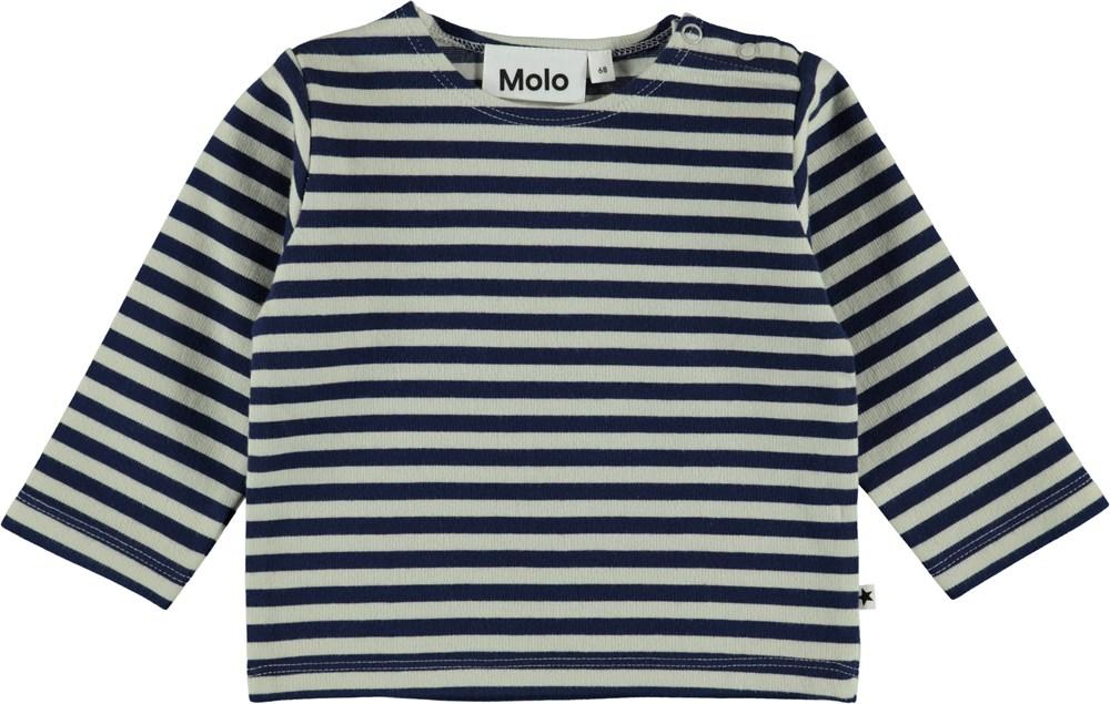Dosto - Narrow Stripe - Baby Blus