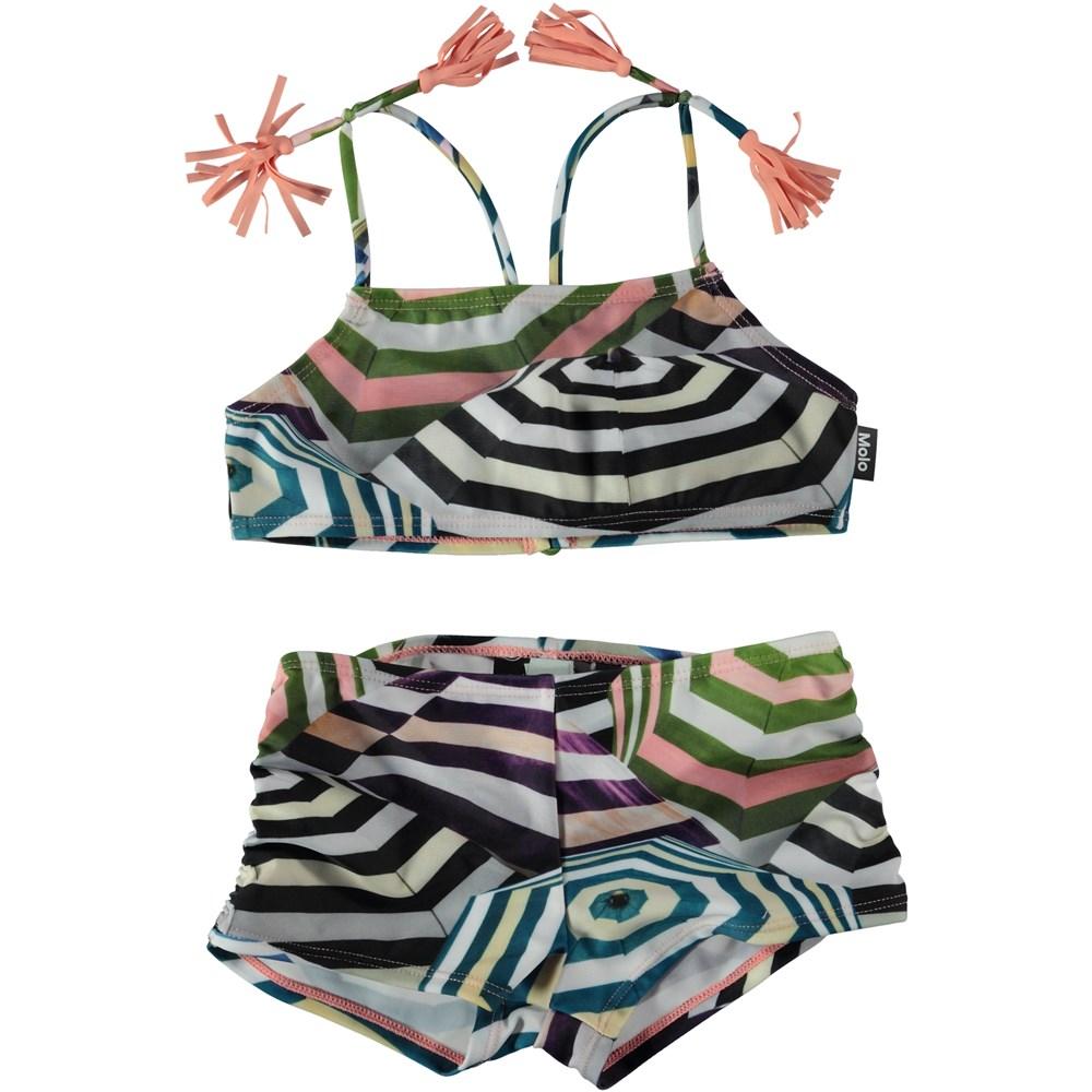 Nadetta - Multi Parasol - Bikini med parasolprint