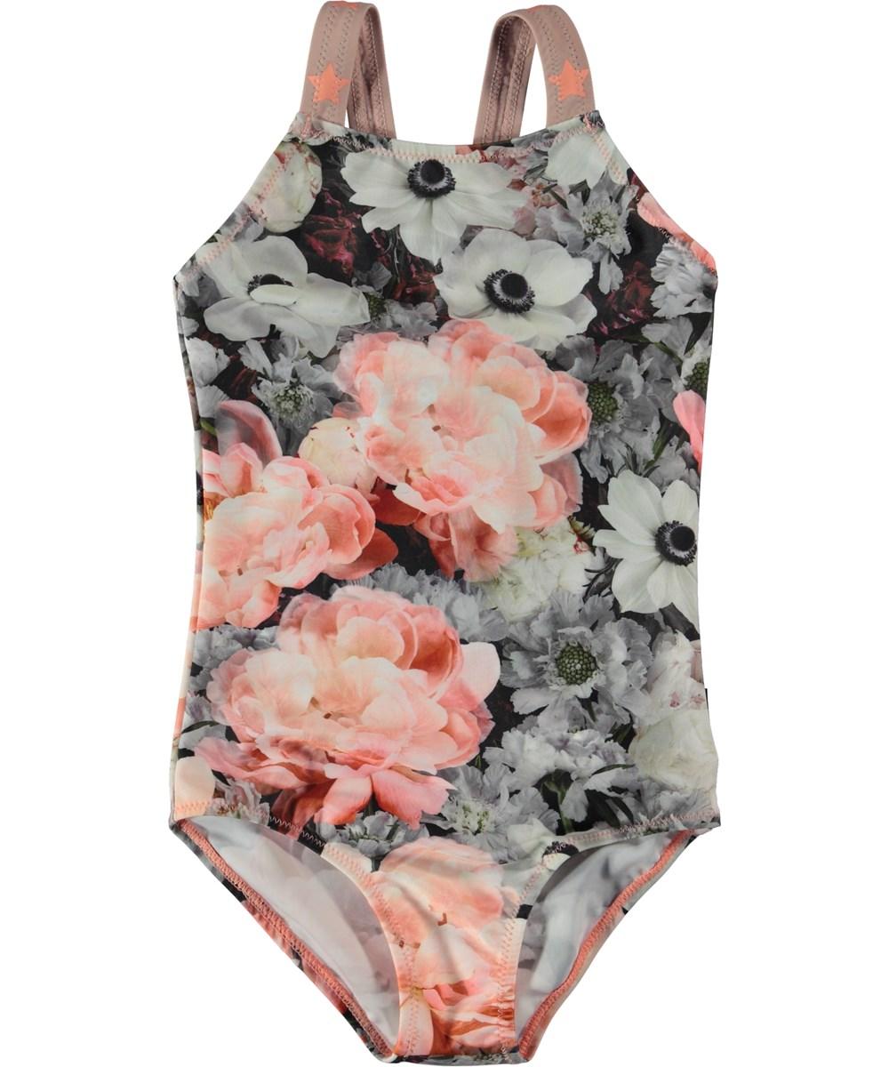 Nakia - Blossom - Blomstret badedragt