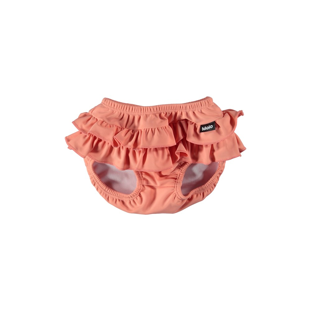 Neena - Blooming - Bikini trusser med flæsekanter