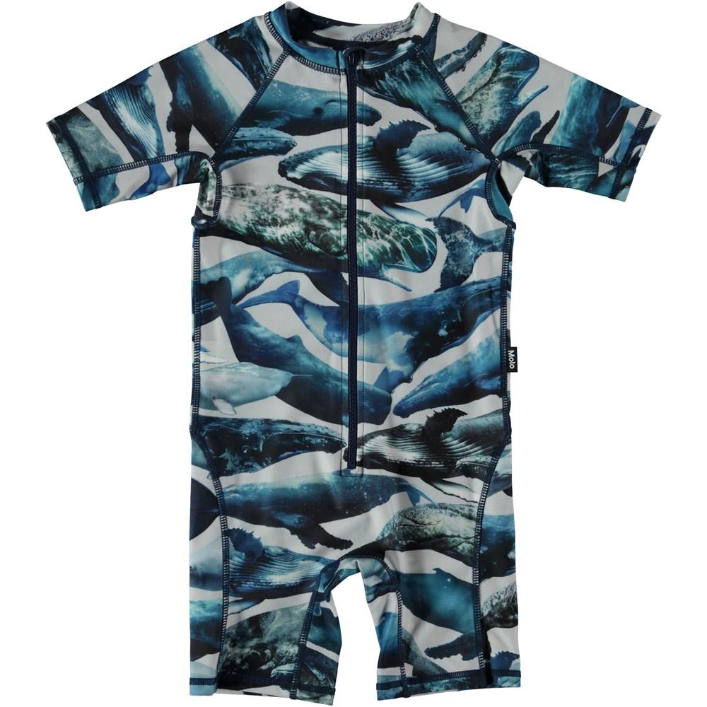 Neka - Whales - Svømmedragt med hvaler.