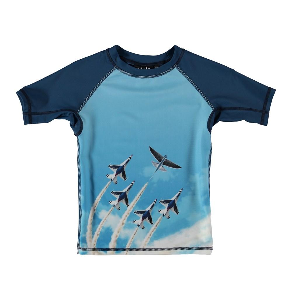 Neptune - Air Show - Svømme t-shirt i med fly