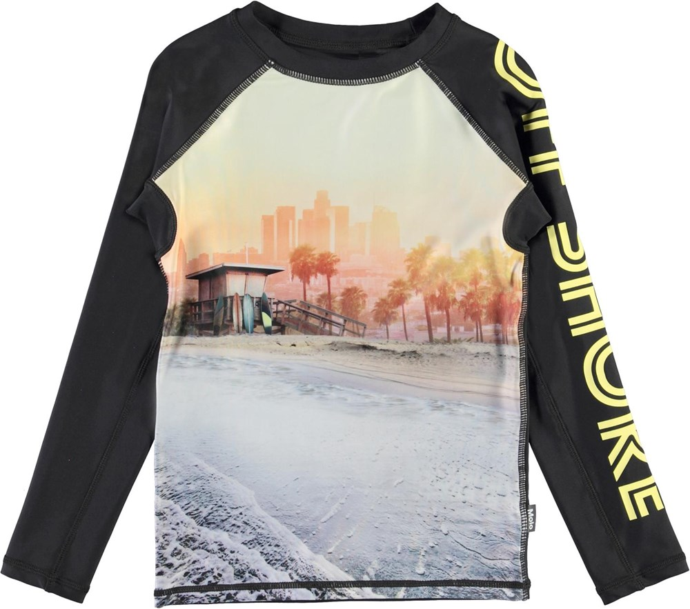Neptune LS - Off Shore - UV svømme t-shirt med off shore