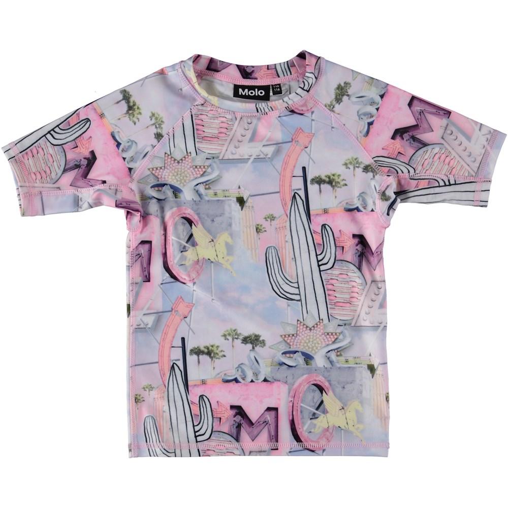 Neptune - Signs - Svømme t-shirt i pastelfarver