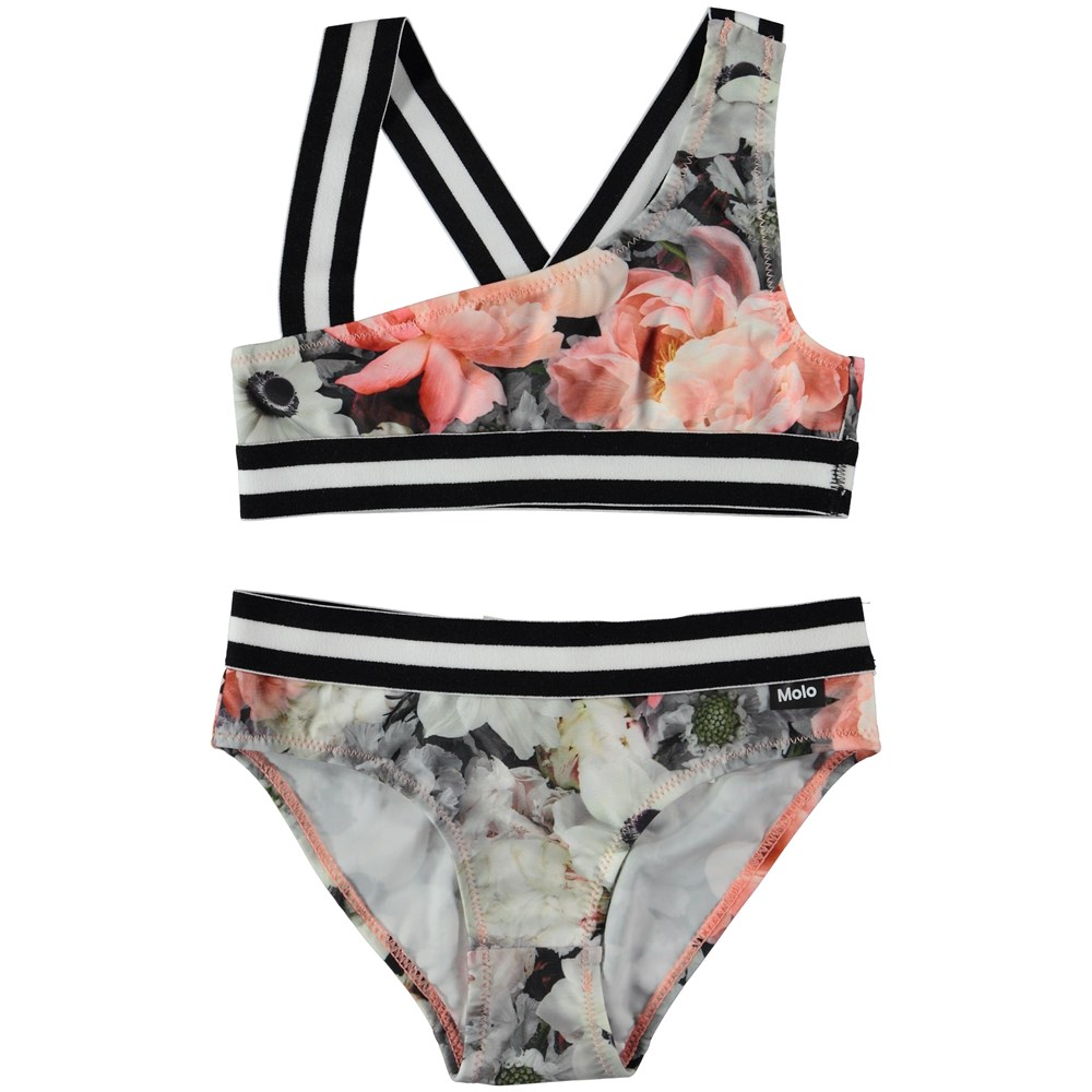 Nicola - Blossom - Asymetrisk bikini