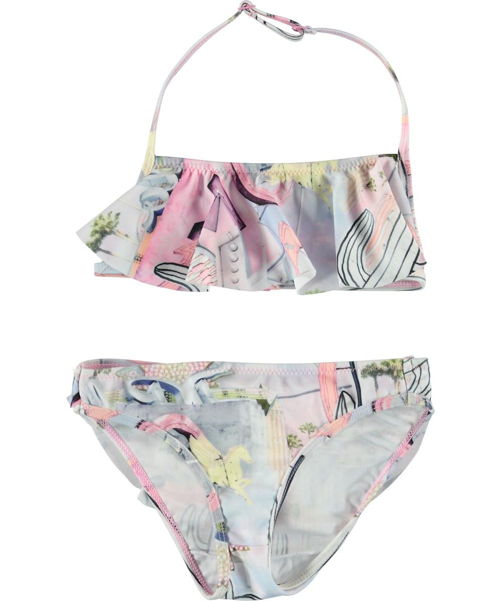 Nula - Signs - Bikini med flæsetop.