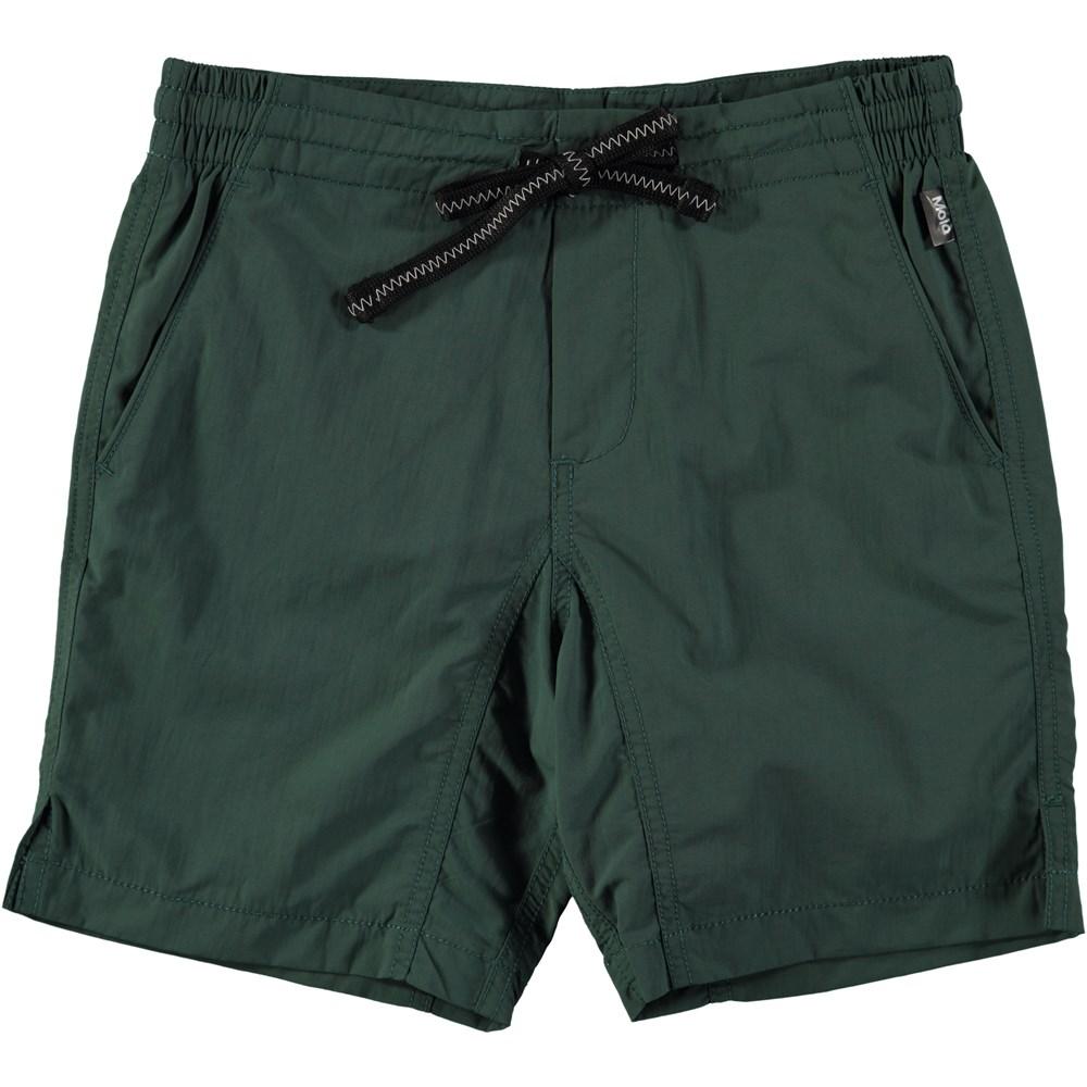 Nario - Tropical - Långa, gröna badshorts