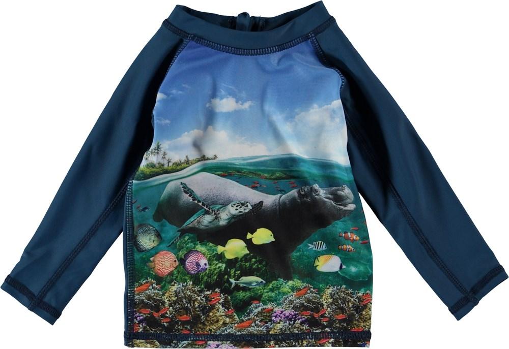 Nemo - Imagine - Baby badtröja med flodhäst