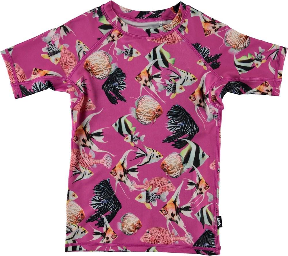 Neptune - Beauty Of The Sea - Bad t-shirt med fiskmönster