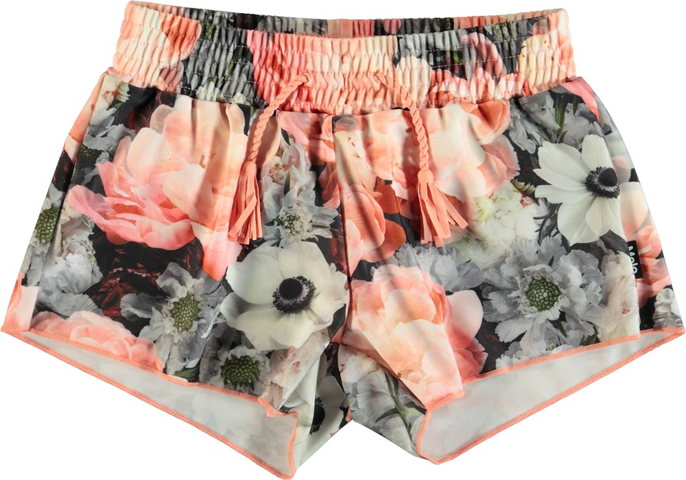 Nicci - Blossom - Blommiga badshorts