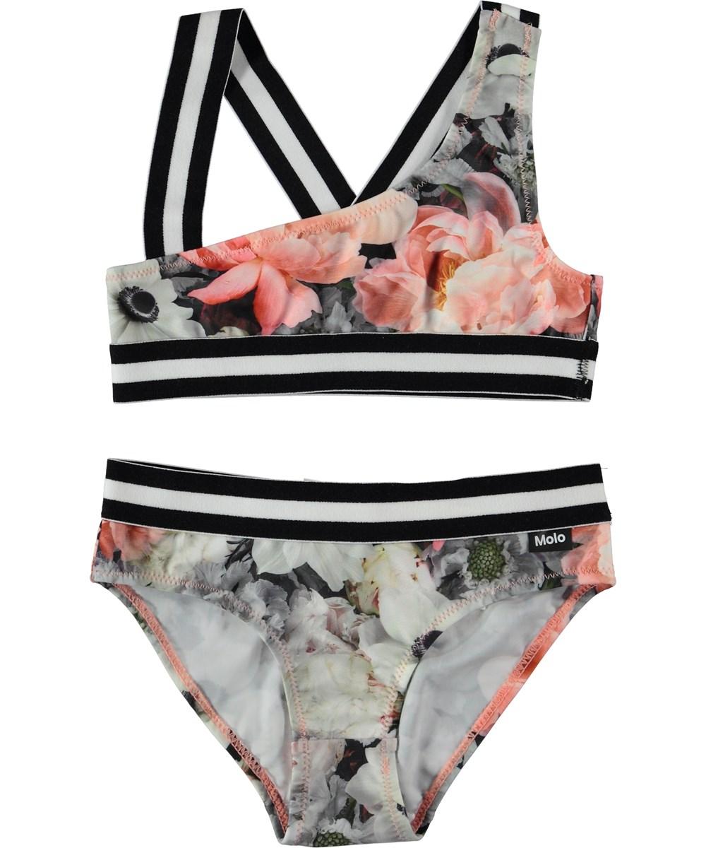 Nicola - Blossom - Asymmetrisk bikini