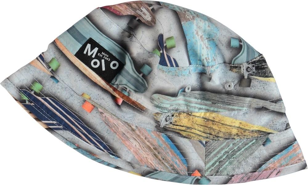 Niks - Board Stripe - Solhatt med skateboards