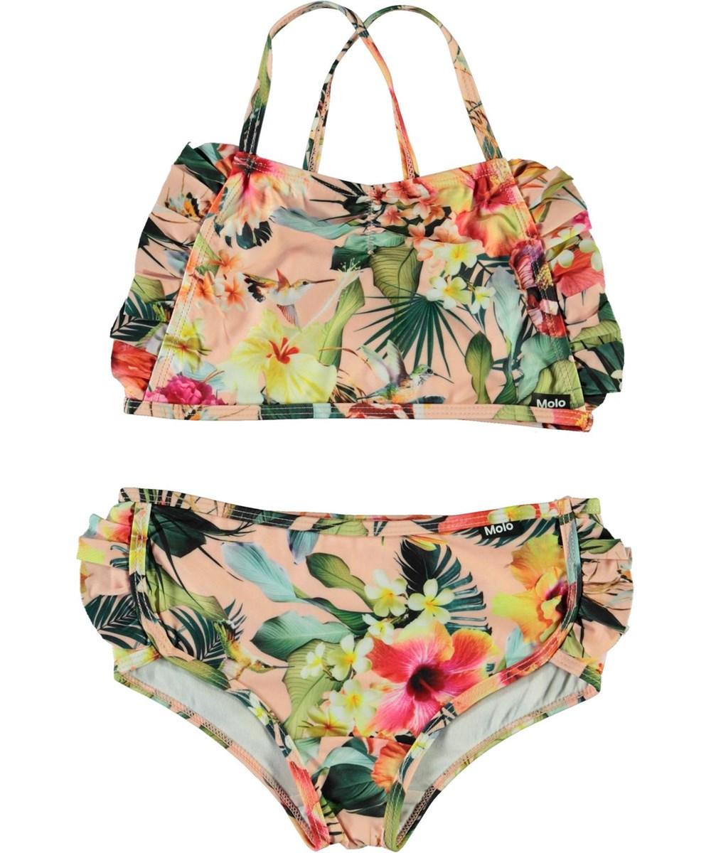 Nanda - Hawaiian Flowers - UV bikini met bloemenprint