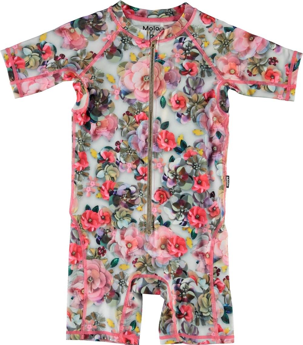Neka - Sequins Flowers - UV zwempak in bloemenprint