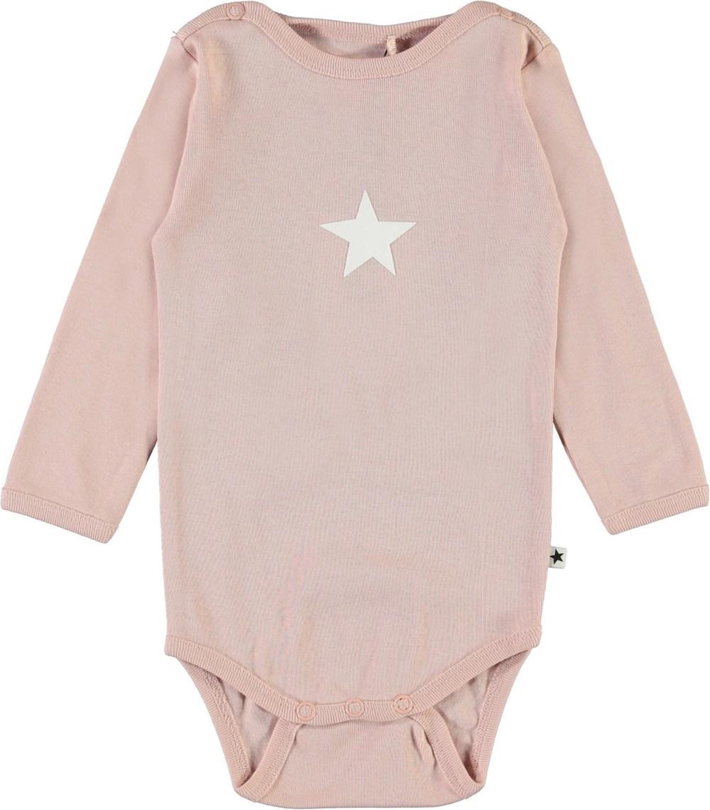 Foss - Petal Blush - Rosa body med stjärna