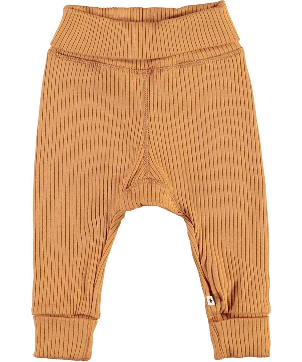 San - Deer - Brown rib baby trousers