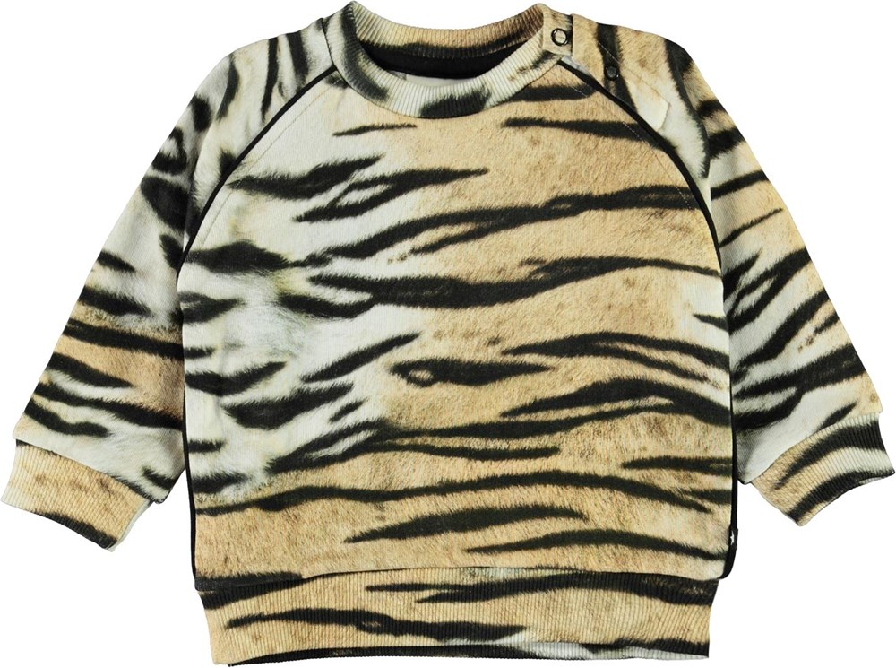Dicte - Wild Tiger Isoli - Baby sweatshirt i tiger print