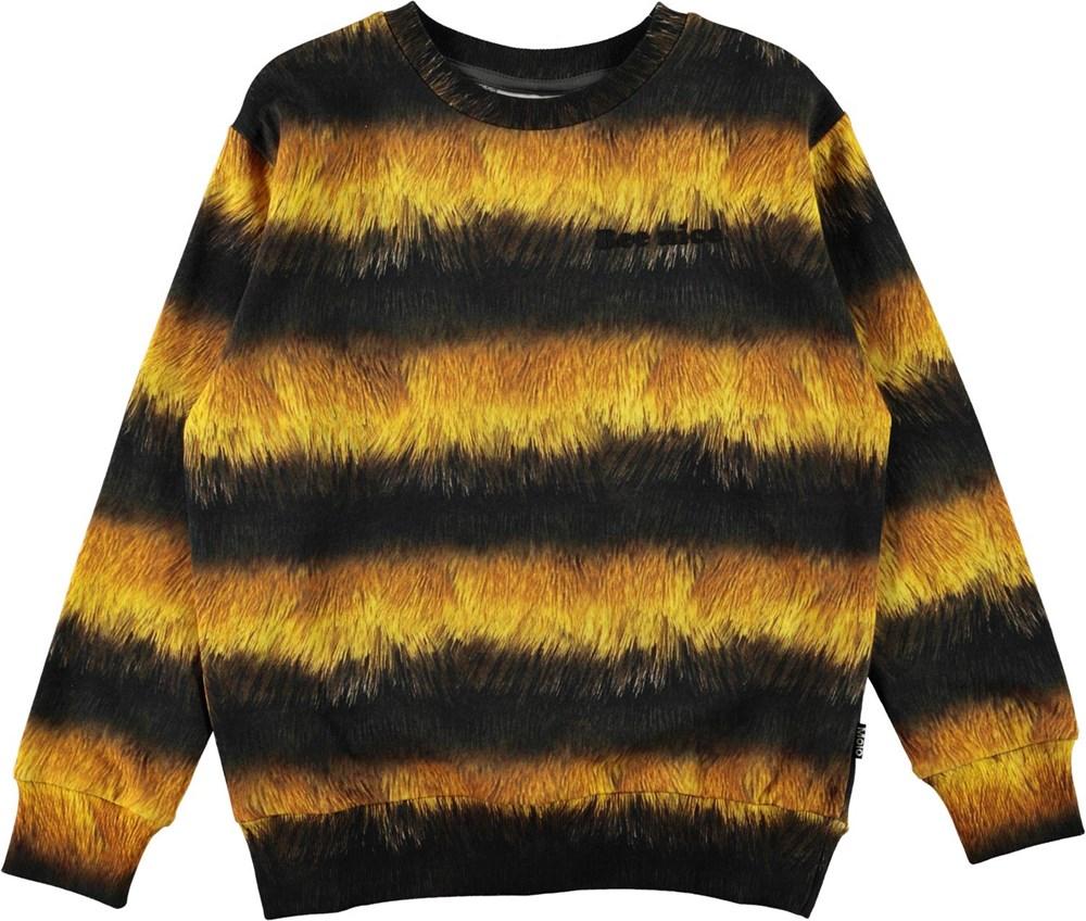 Mik - Bee - Black and yellow bee sweatshirt