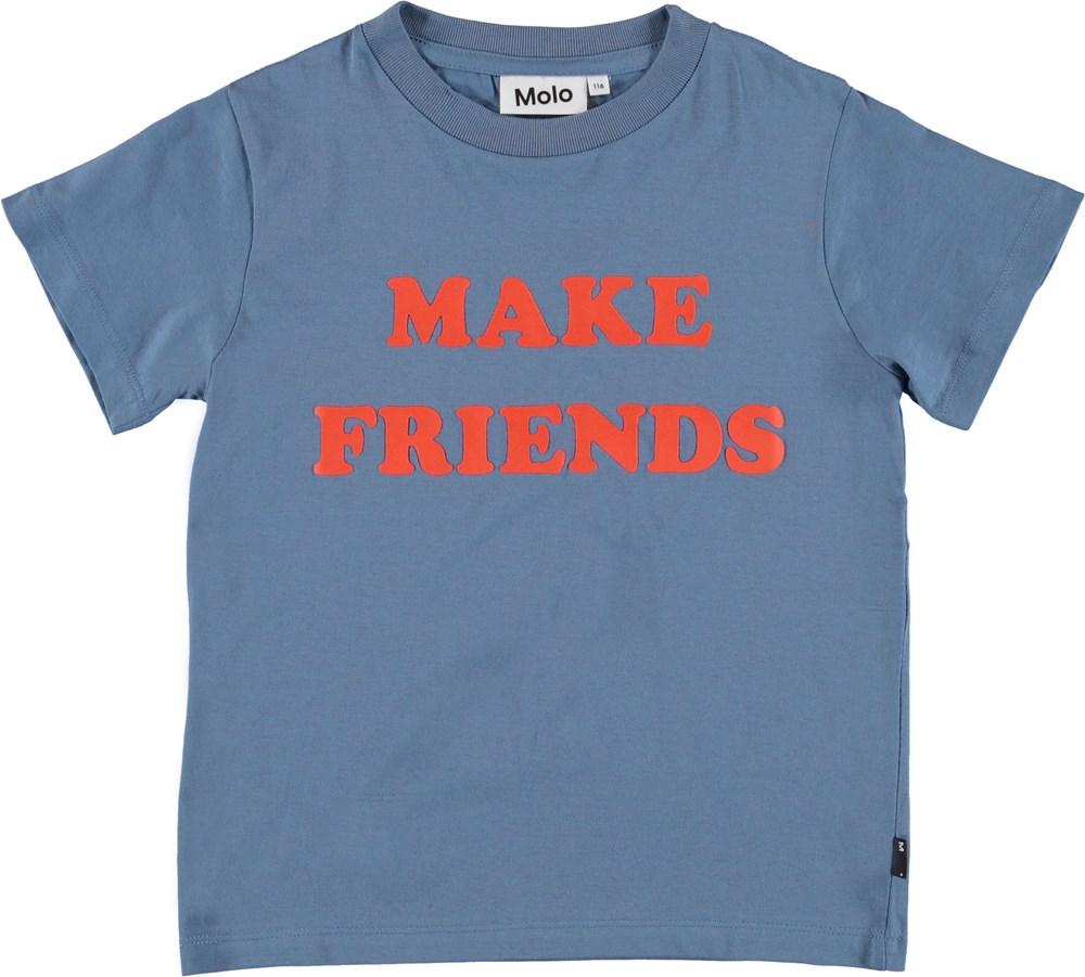 Reeve - Twilight Blue - Blue unisex t-shirt.