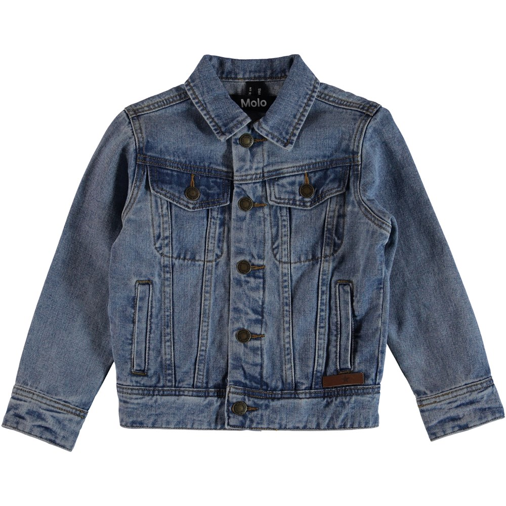 Harald - Stone Blue - Denim Jacket