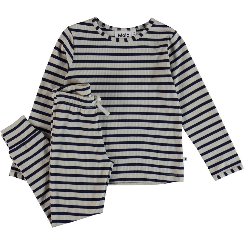 Luve - Sailor Blue Stripe - Pyjamas