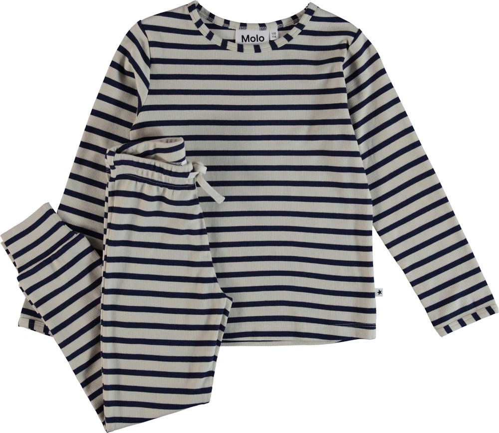 Luve - Sailor Blue Stripe - Pyjamas
