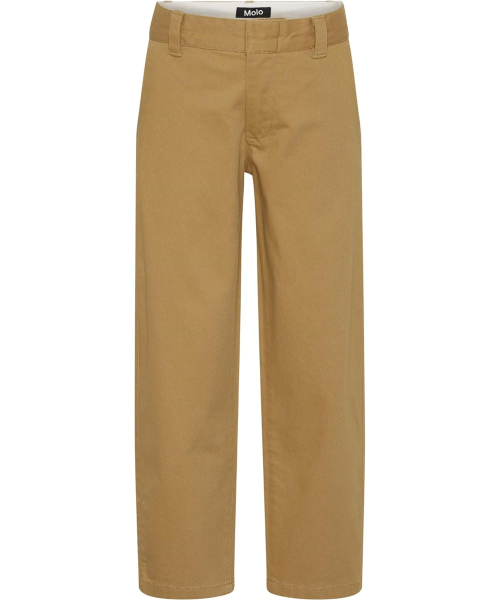 Ace - Sandstone - Sand coloured chino trousers