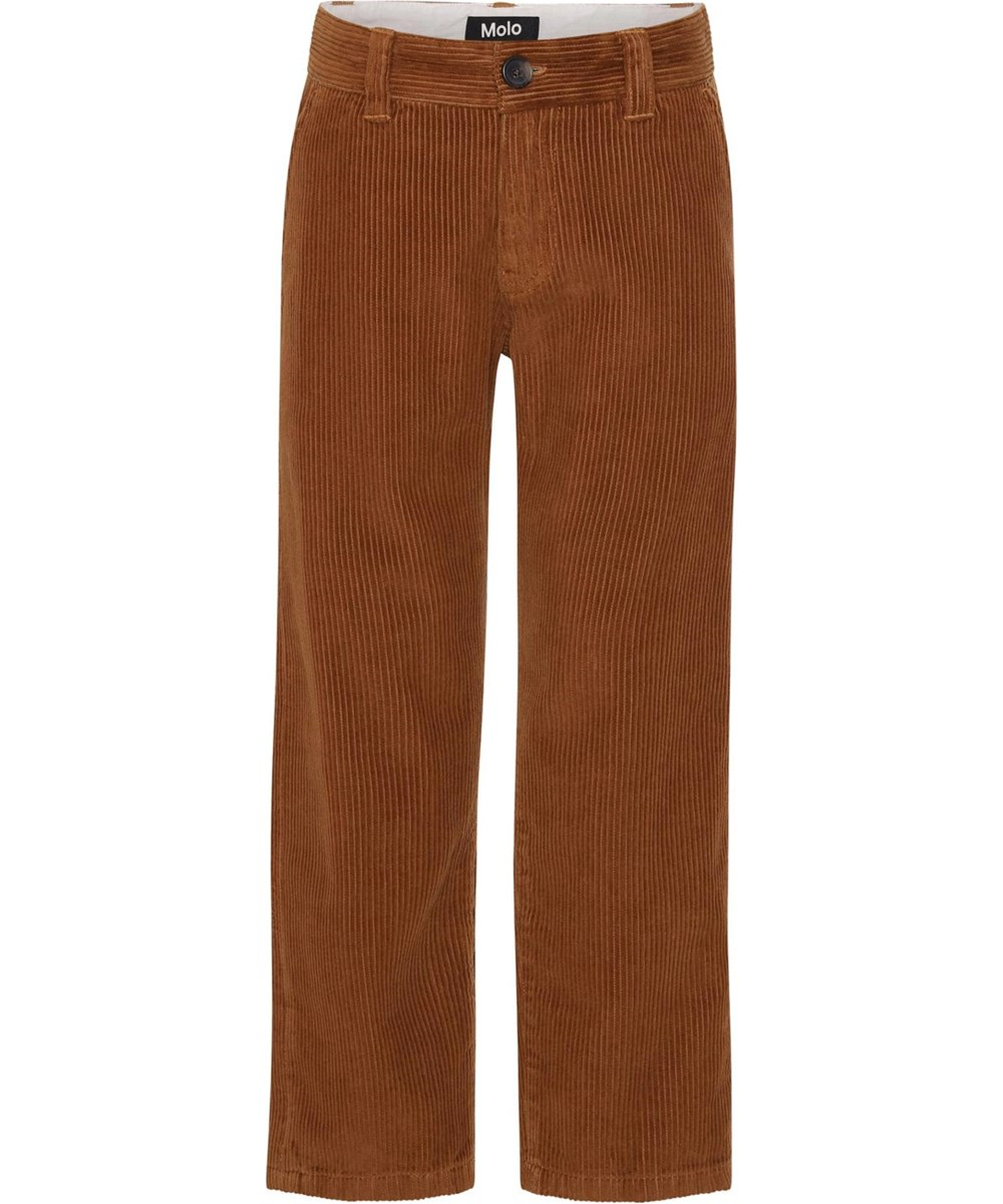 Aces - Iron - Brown corduroy trousers
