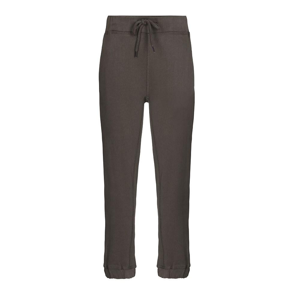 Aimon - Crocodile - Khaki coloured sweatpants with ties at the waist
