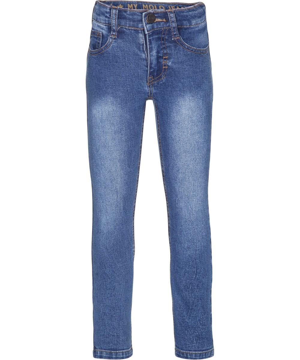 Aksel - Blue Denim - blue slim fit jeans