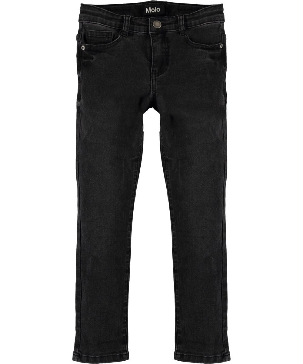 Aksel - Washed Black - Black slim fit denim jeans