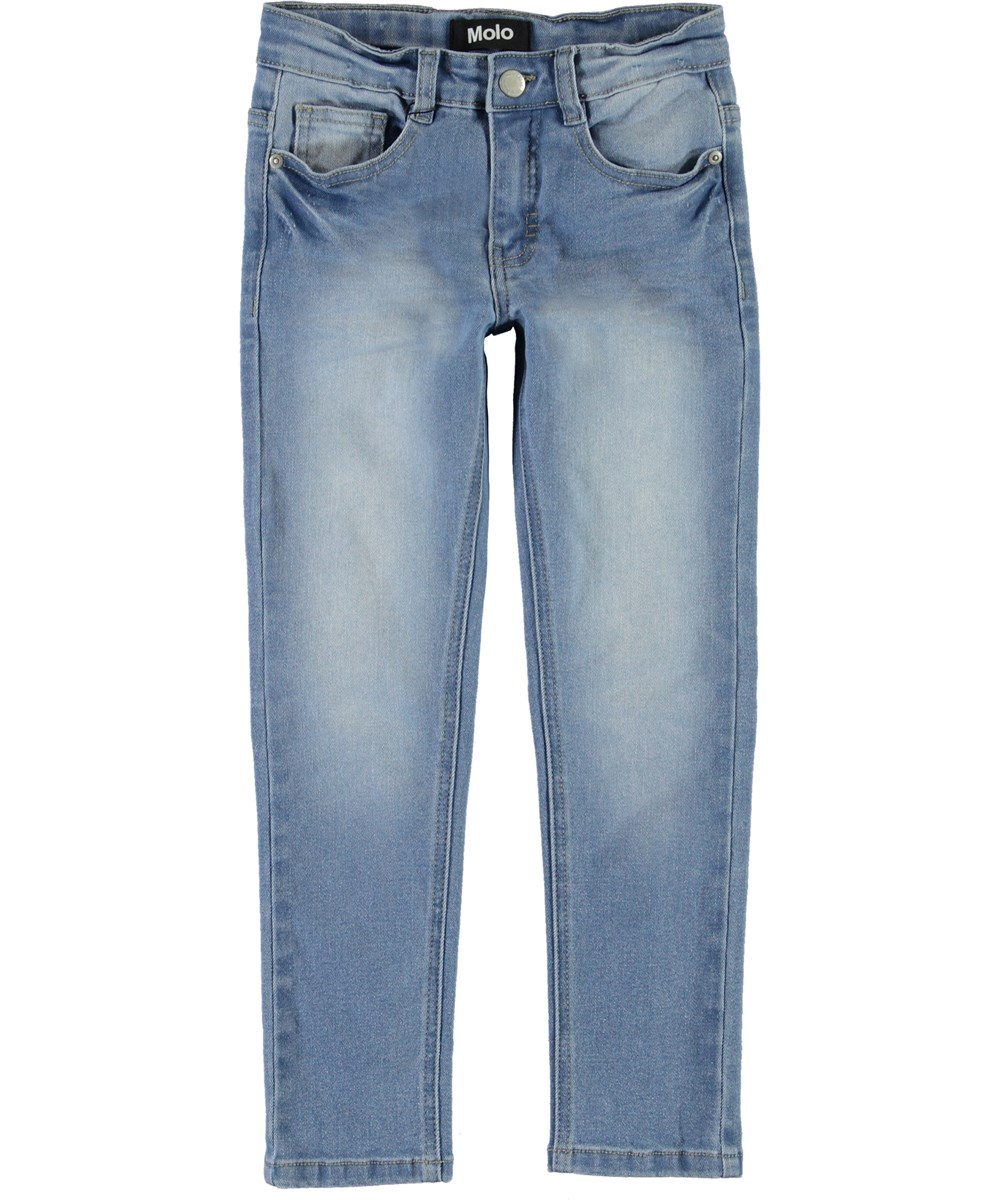 Aksel - Worn Denim - Light blue jeans