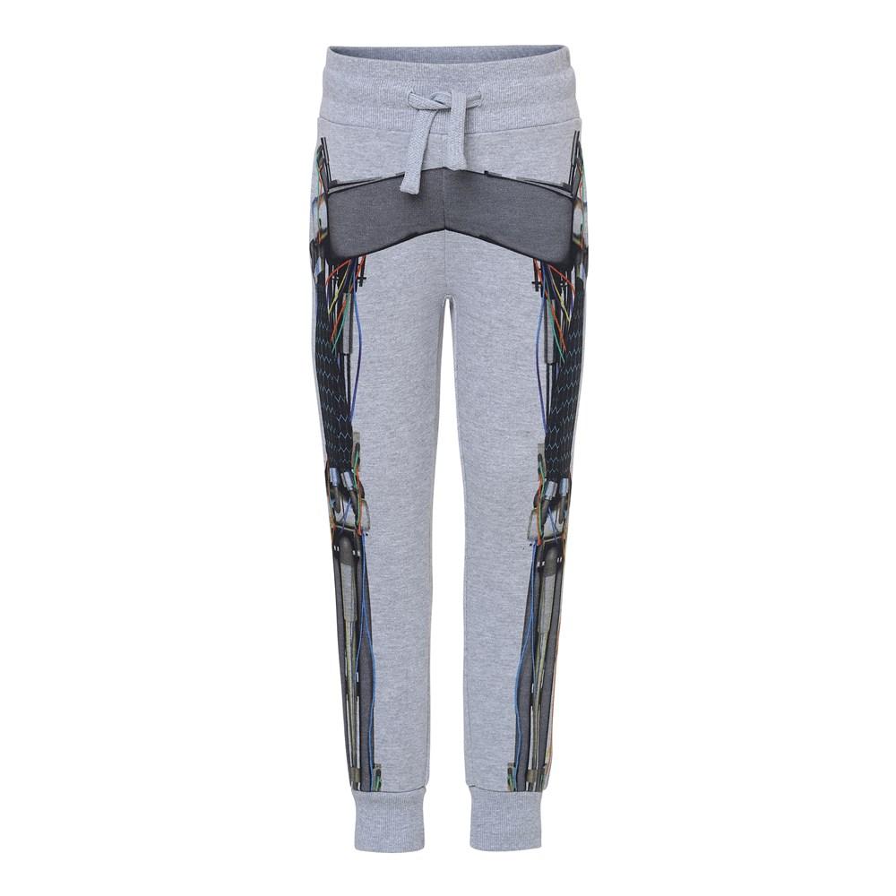 Alcan - Cyborg - Sweatpants with robot print.