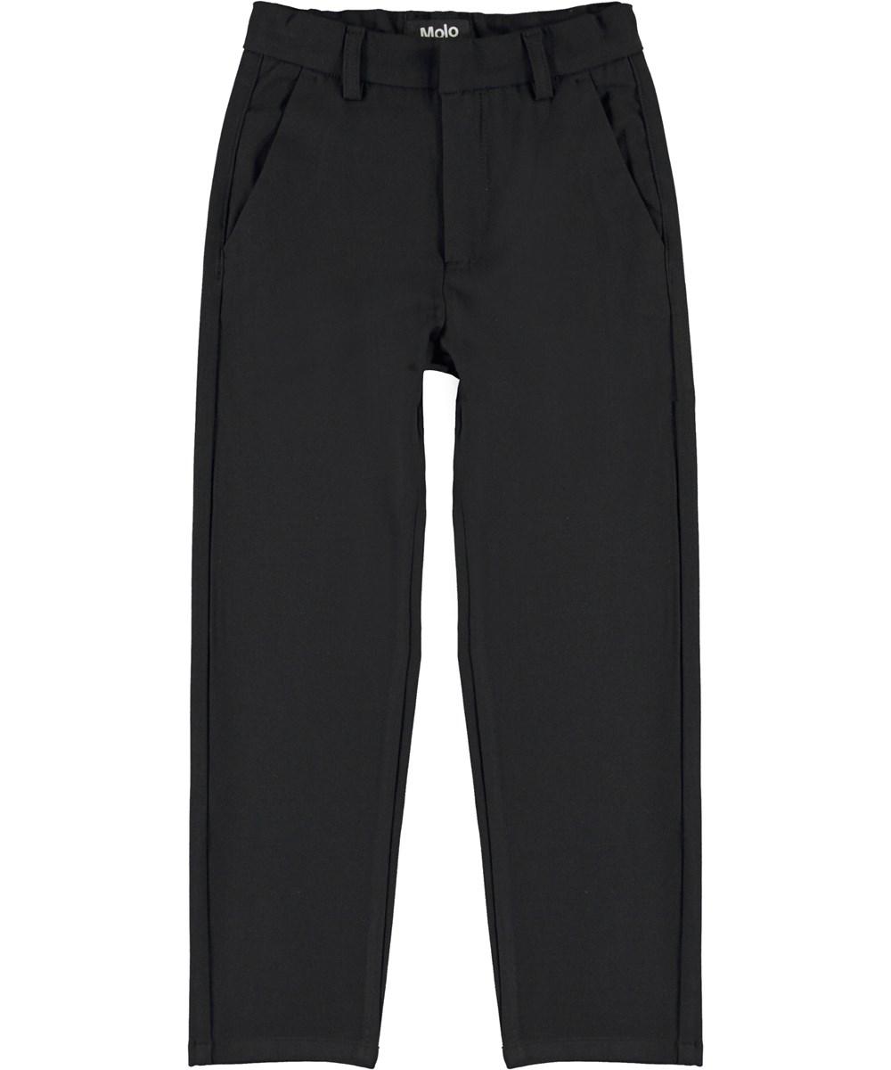 Alf - Black - Black trousers