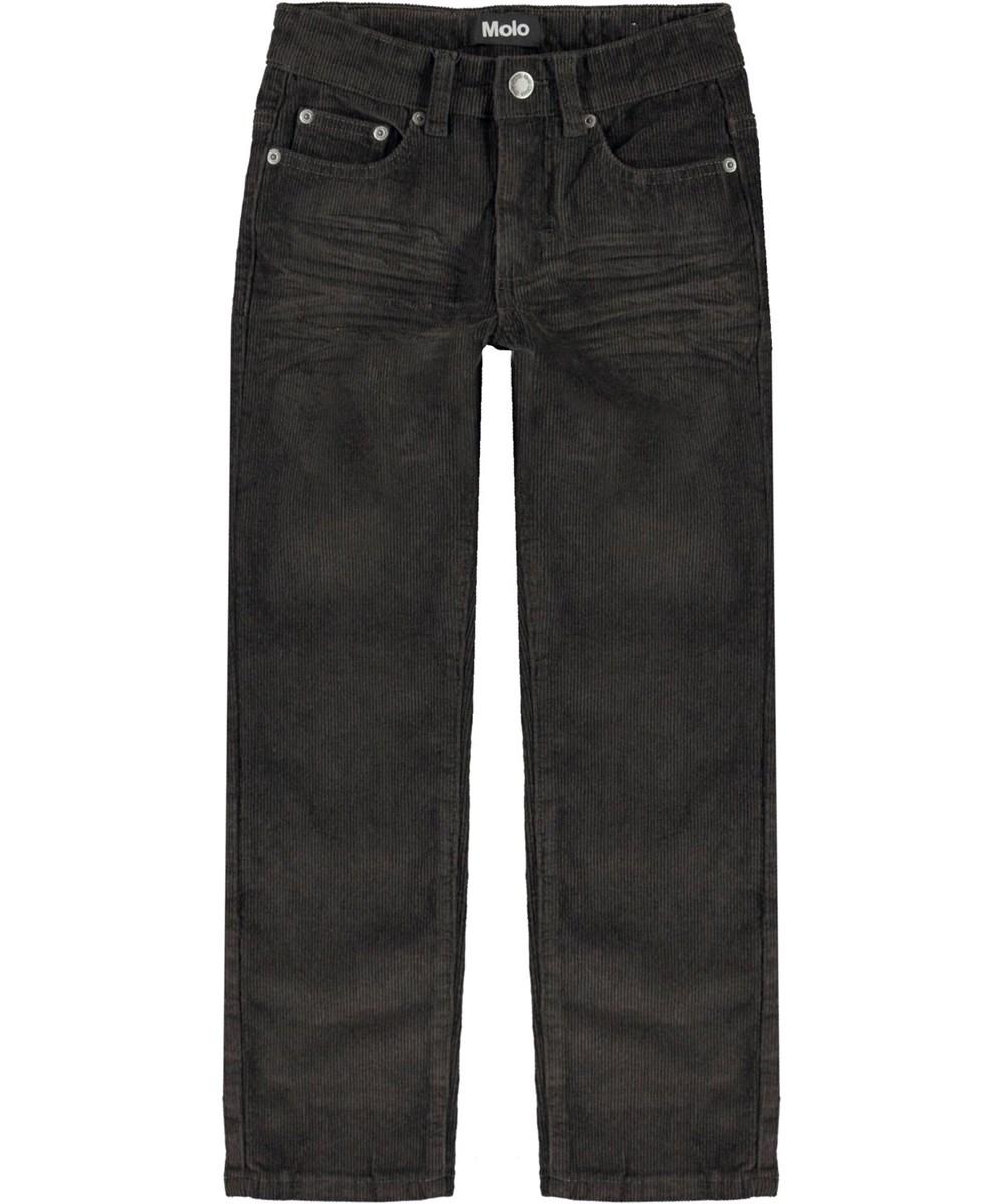 Alon - Beluga - Brown corduroy jeans