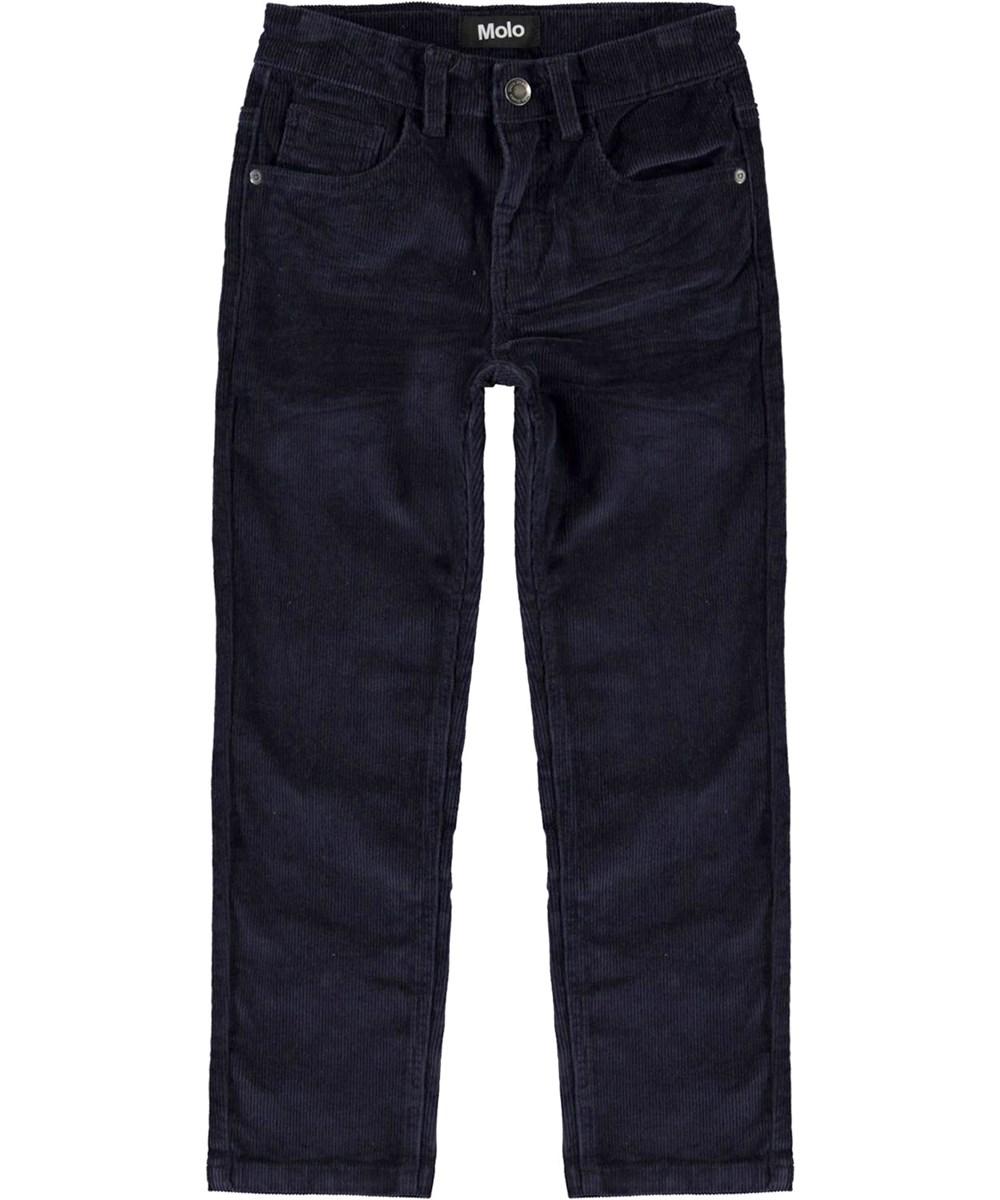 Alon - Dark Navy - Loose dark blue jeans