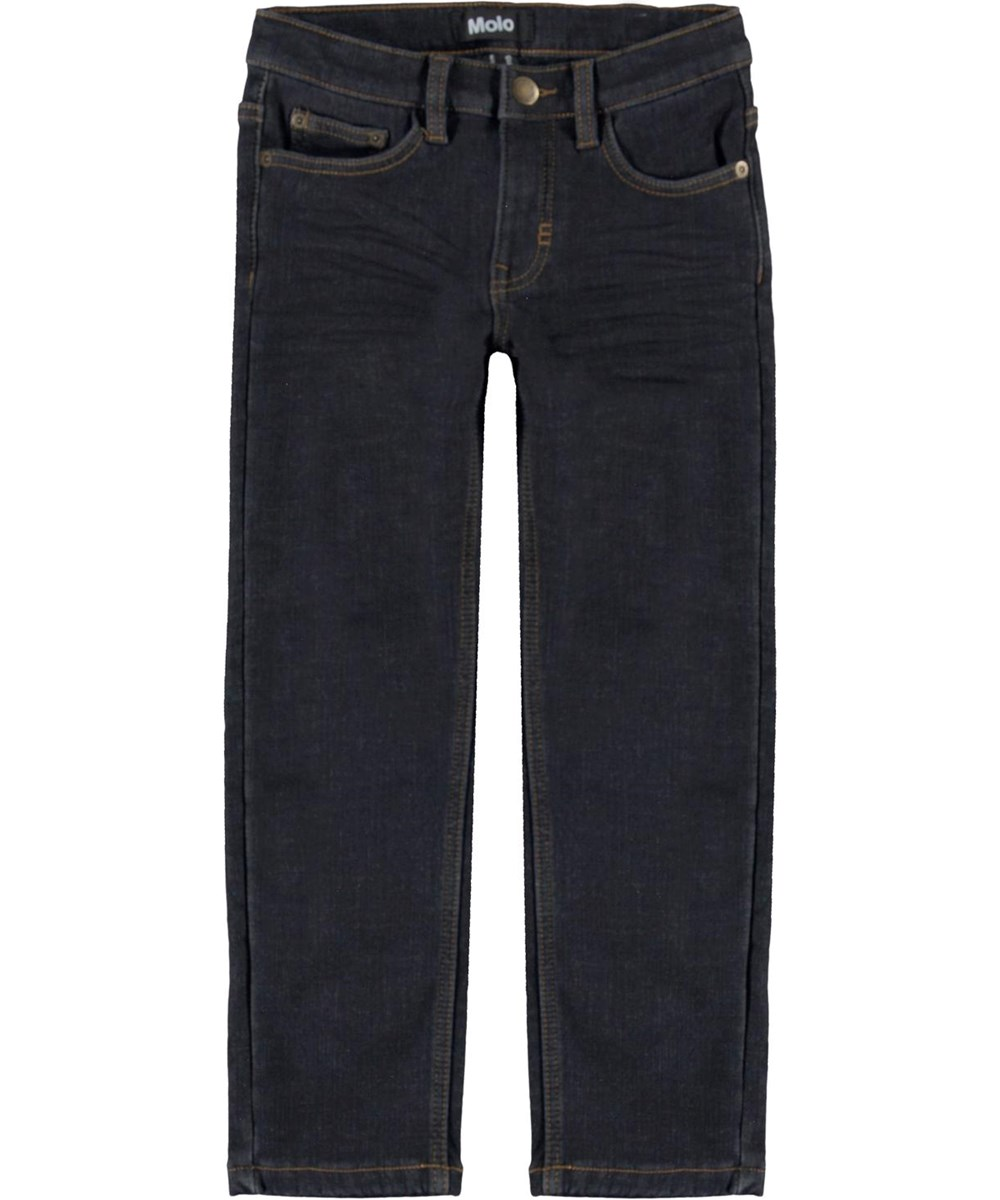 Alon - Washed Indigo - Dark blue jeans in comfortable fit