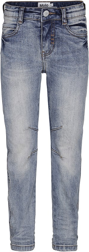 Alonso - Charcoal Blue - Light coloured denim jeans in a washed look