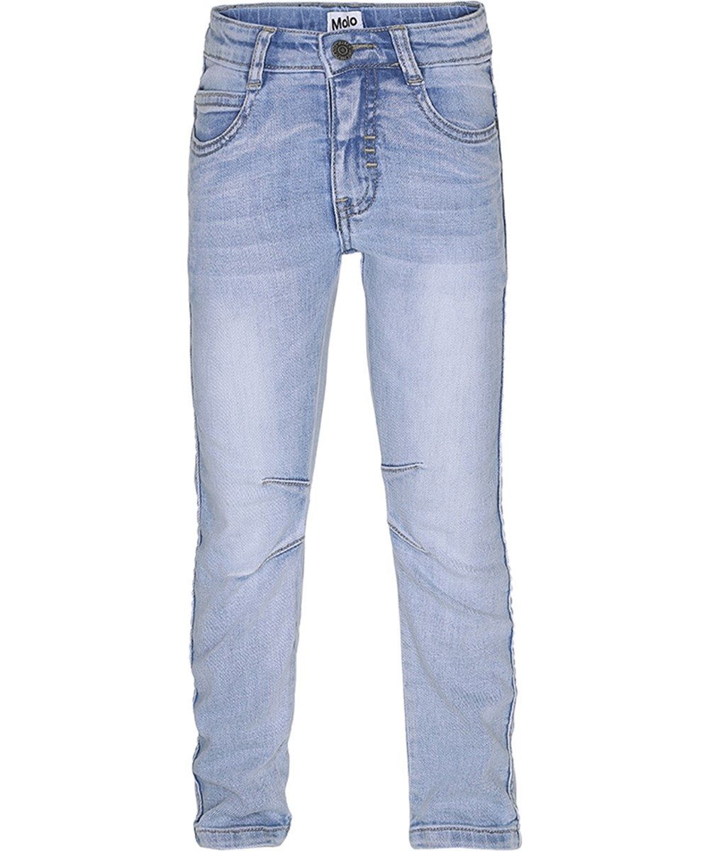 d68f6393c5 Alonso - Heavy Blast - Light blue denim jeans in a washed look - Molo