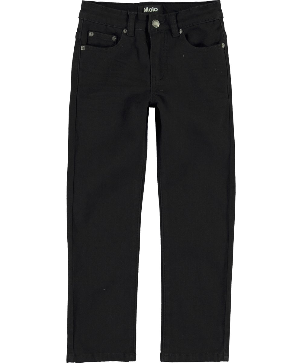 Alon - Black - Loose black jeans