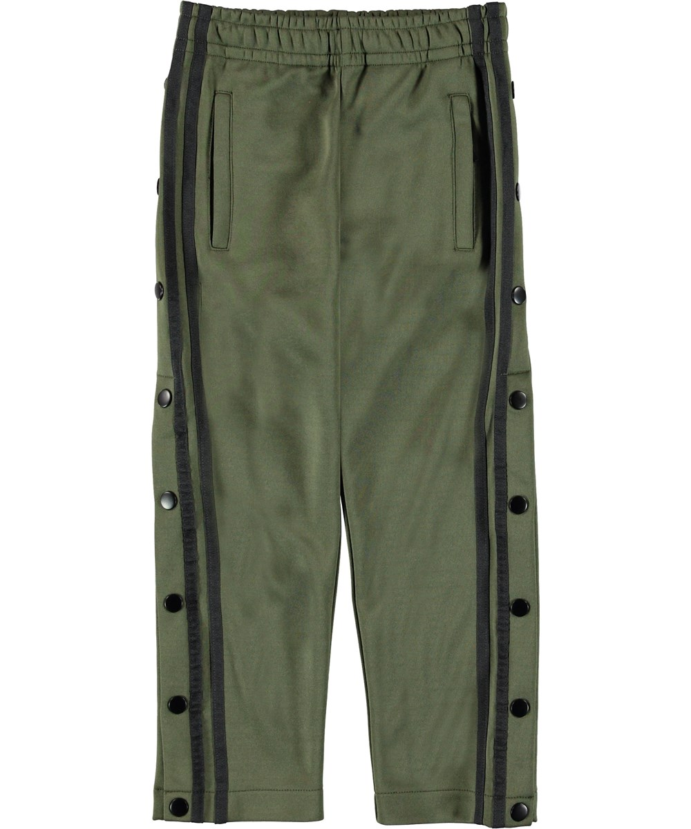 Alto - Bark - Trackpants  green sporty trousers.